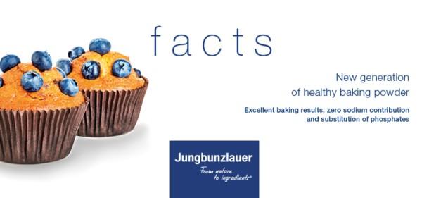 Jungbunzlauer launches new generation of healthy baking powder